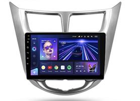 Штатная магнитола Teyes CC3 4/64 ГБ для Hyundai Solaris I 2011-2017 на Android 10.0