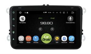 Штатная магнитола Roximo CarDroid RD-3711D для Skoda универсальная (Android 9.0) DSP