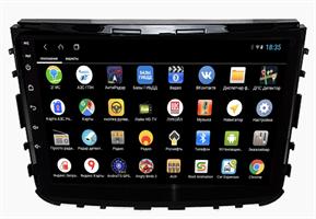 Parafar PF356XHD10 для SsangYong Rexton IV 2018-2020 на Android 10.0
