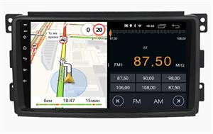 Parafar для Mercedes-Benz Smart 2005-2010 на Android 10.0 (PF207LTX)