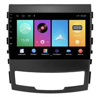 Штатная магнитола FarCar D159M для SsangYong Actyon, Korando 2010-2013 на Android 8.1