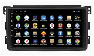 Parafar для Mercedes-Benz Smart 2005-2010 на Android 9.0 (PF207XHD)