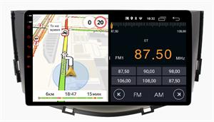 Parafar для Lifan x60 2011-2016 на Android 10.0 (PF060LTX)