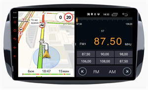Parafar для Mercedes Fortwo III 2014-2019, Forfour II 2014-2019 на Android 10.0 (PF214LTX)