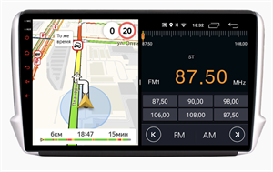 Parafar для Peugeot 2008 2013-2019 на Android 10.0 (PF892LTX)
