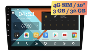 Wide Media KS-MFA-QR-3/32 4G-SIM 2 DIN универсальная магнитола Android 10.0