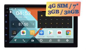 Wide Media KS7001-QR-3/32 4G-SIM 2 DIN универсальная магнитола Android 10.0