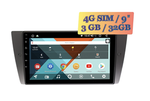 Wide Media KS9111QR-3/32 4G-SIM для BMW 3 (E90, E91, E92, E93), 1 (E81, E82) Android 10.0