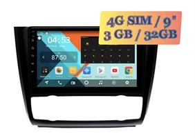 Wide Media KS9450QR-3/32 4G-SIM для BMW 3 (E90, E91, E92, E93), 1 (E81, E82) c климатом Android 10.0