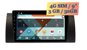 Wide Media KS9162QR-3/32 4G-SIM для BMW 7 (E38), 5 (E39), M5 (E39), X5 (E53) Android 10.0