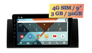 Wide Media KS9295QR-3/32 4G-SIM для BMW 7 (E38), 5 (E39), M5 (E39), X5 (E53) Android 10.0