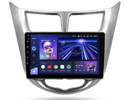 Штатная магнитола Teyes CC3 6/128 ГБ для Hyundai Solaris I 2011-2017 на Android 10.0