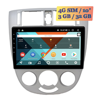 Wide Media KS1079QR-3/32 4G-SIM для Chevrolet Lacetti 2004 - 2013 (тип 3) cедан кондиционер Android 10.0