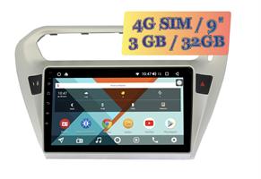 Wide Media KS9118QR-3/32 4G-SIM для Peugeot 301 I 2012-2018 Android 10.0