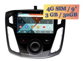 Wide Media KS9065QR-3/32 4G-SIM для Ford Focus 2011+ Android 10.0