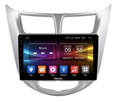 CarMedia OL-9707-2D-F для Hyundai Solaris I 2011-2017 на Android 10.0
