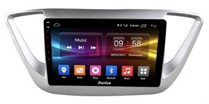 CarMedia OL-9710-2D-F для Hyundai Solaris II 2017-2018 на Android 10.0