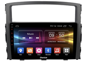 CarMedia OL-9566-2D-F для Mitsubishi Pajero IV 2006-2019 на Android 10.0
