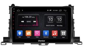 CarMedia OL-1601-2D-F для Toyota Highlander (U50) 2014-2019 на Android 10.0