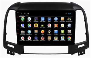 Parafar для Hyundai Santa Fe II 2005-2012 на Android 9.0 (PF208XHD)