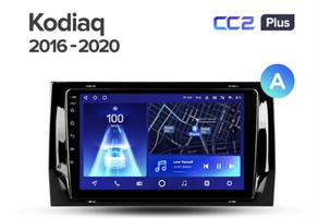 Штатная магнитола Teyes CC2 Plus 3/32 ГБ для Skoda Kodiaq 2016-2021 на Android 10.0