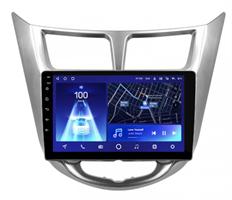 Штатная магнитола Teyes CC2 Plus 3/32 ГБ для Hyundai Solaris I 2011-2017 на Android 10.0