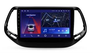 Штатная магнитола Teyes CC2 Plus 6/128 ГБ для Jeep Compass II 2017-2021 на Android 10.0