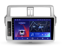 Штатная магнитола Teyes CC2 Plus 6/128 ГБ для Toyota Land Cruiser Prado 150 2013-2017 на Android 10.0