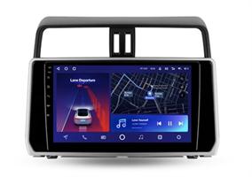 Штатная магнитола Teyes CC2 Plus 6/128 ГБ для Toyota Land Cruiser Prado 150 2017-2020 на Android 10.0