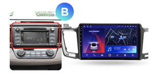 Штатная магнитола Teyes CC2 Plus 6/128 ГБ для Toyota RAV4 (CA40) 2013-2019 на Android 10.0