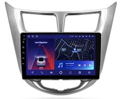 Штатная магнитола Teyes CC2 Plus 6/128 ГБ для Hyundai Solaris I 2011-2017 на Android 10.0