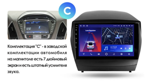 Штатная магнитола Teyes CC2 Plus 6/128 ГБ для Hyundai ix35, Tucson II 2010-2015 на Android 10.0