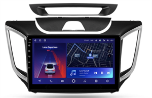 Штатная магнитола Teyes CC2 Plus 6/128 ГБ для Hyundai Creta 2016-2021 на Android 10.0