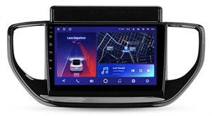 Штатная магнитола Teyes CC2 Plus 6/128 ГБ для Hyundai Solaris 2020+ на Android 10.0