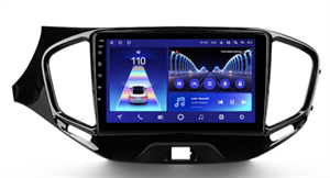Штатная магнитола Teyes CC2 Plus 4/64 ГБ для Lada Vesta 2015-2021 на Android 10.0
