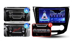 Штатная магнитола Teyes CC2 Plus 4/64 ГБ для Nissan Qashqai II, X-Trail III (T32) 2015-2019 на Android 10.0