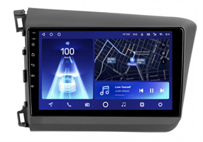 Штатная магнитола Teyes CC2 Plus 4/64 ГБ для Honda Civic 2012-2015 на Android 10.0