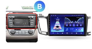 Штатная магнитола Teyes CC2 Plus 4/64 ГБ для Toyota RAV4 (CA40) 2013-2019 на Android 10.0