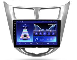 Штатная магнитола Teyes CC2 Plus 4/64 ГБ для Hyundai Solaris I 2011-2017 на Android 10.0