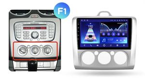 Штатная магнитола Teyes CC2 Plus 4/64 ГБ для Ford Focus II 2005-2011 на Android 10.0