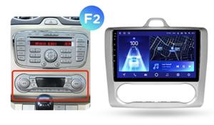 Штатная магнитола Teyes CC2 Plus 3/32 ГБ для Ford Focus II 2005-2011 на Android 10.0