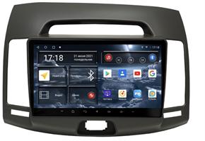 Штатная магнитола Redpower 71092G для Hyundai Elantra Old 2006-2011 на Android 10.0 цвет-серый