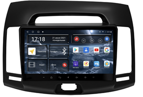 Штатная магнитола Redpower 71092B для Hyundai Elantra Old 2006-2011 на Android 10.0 черная