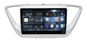 Штатная магнитола Redpower 71167 для Hyundai Solaris II 2017-2020 на Android 10.0