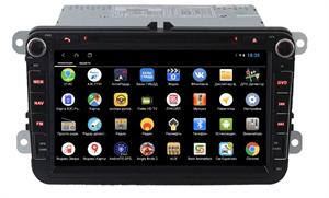 Parafar для VW, Skoda, Seat (универсальная с кнопками) с DVD на Android 9.0 (PF904XHDDVD)