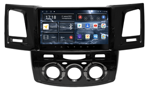 Штатная магнитола Redpower 71269 для Toyota Fortuner, Hilux (2005-2015) на Android 10.0