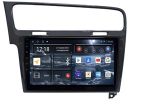 Штатная магнитола Redpower 71006G для Volkswagen Golf 7 2013-2019 на Android 10.0 cерый глянец