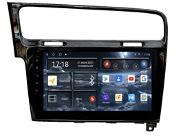 Штатная магнитола Redpower 71006B для Volkswagen Golf 7 2013-2019 на Android 10.0 черный глянец