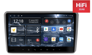 Штатная магнитола Redpower 75049 Hi-Fi для Audi A3 II (8P) 2007-2013 на Android 10.0