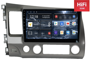 Штатная магнитола Redpower 75024 Hi-Fi для Honda Civic 8 (VIII) 2006-2012 на Android 10.0